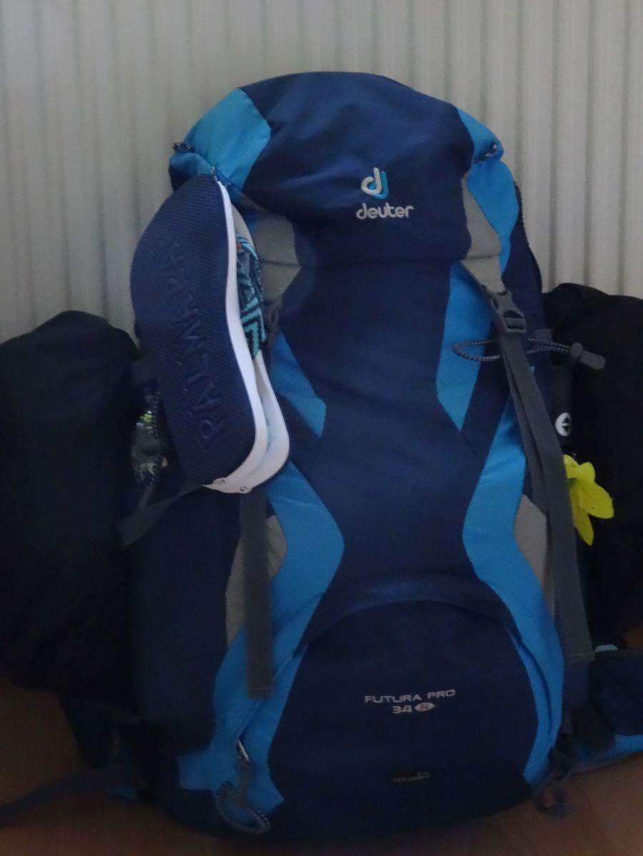 Packen für die Alpenüberquerung
