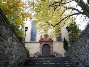 Kirche in Kröv.