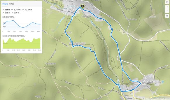 (Karte bei Karte bei www.komoot.de)