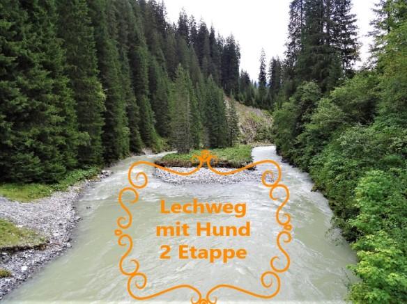 Lechweg mit Hund - 2. Etappe