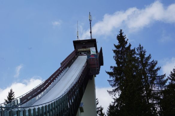 Skisprungschanze in Schonach
