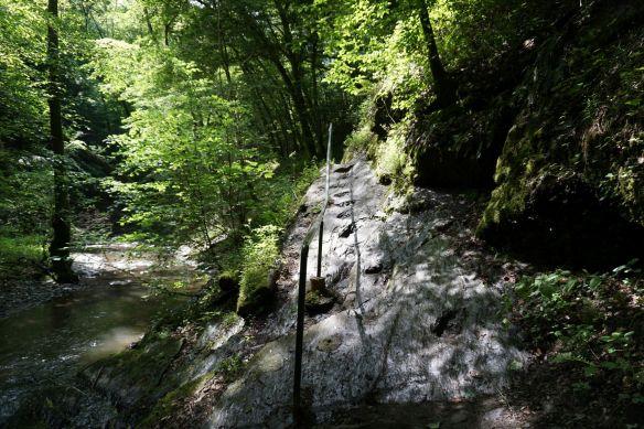 Wanderweg in der Ehrbachklamm